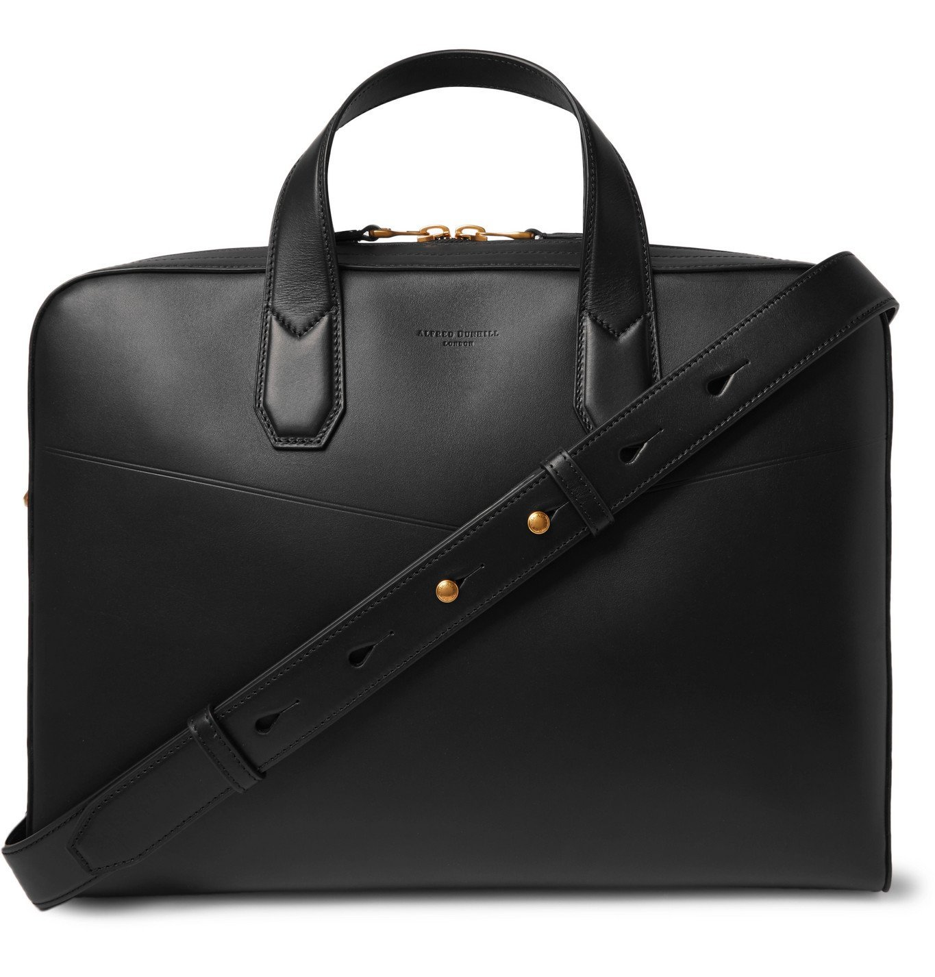 Dunhill - Duke Leather Briefcase - Black