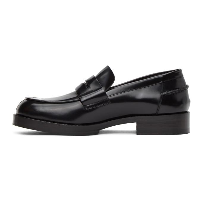 1017 ALYX 9SM Black A Penny Loafers