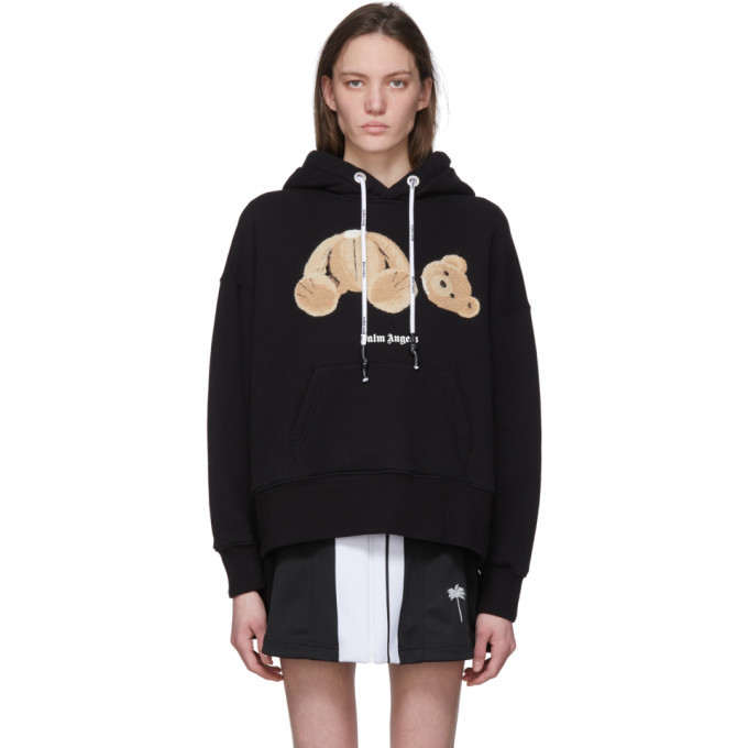 Photo: Palm Angels Black Kill The Bear Hoodie