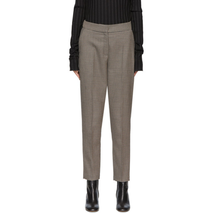 Photo: Won Hundred Brown Houndstooth Elissa Trousers