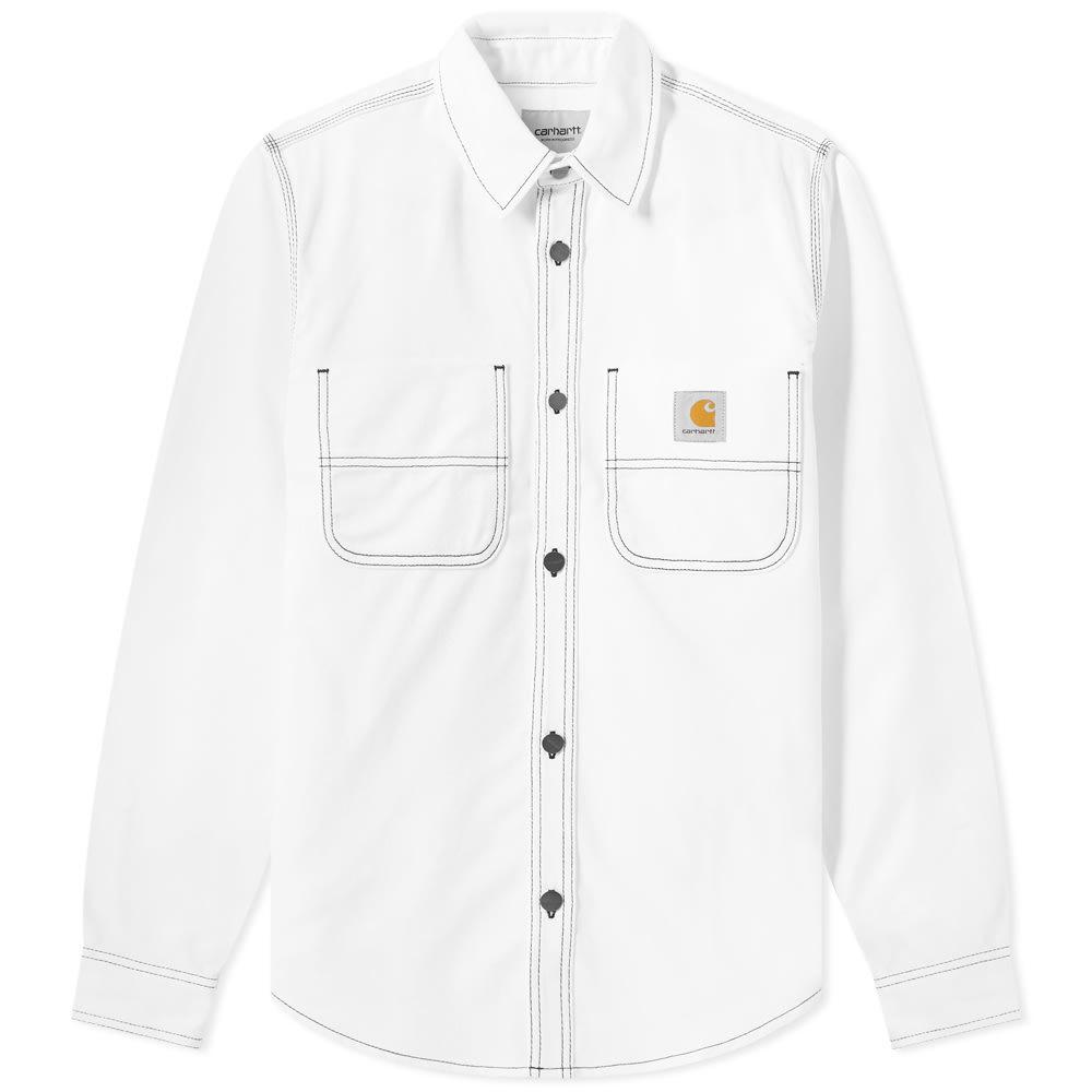 Photo: Carhartt Chalk Shirt Jacket