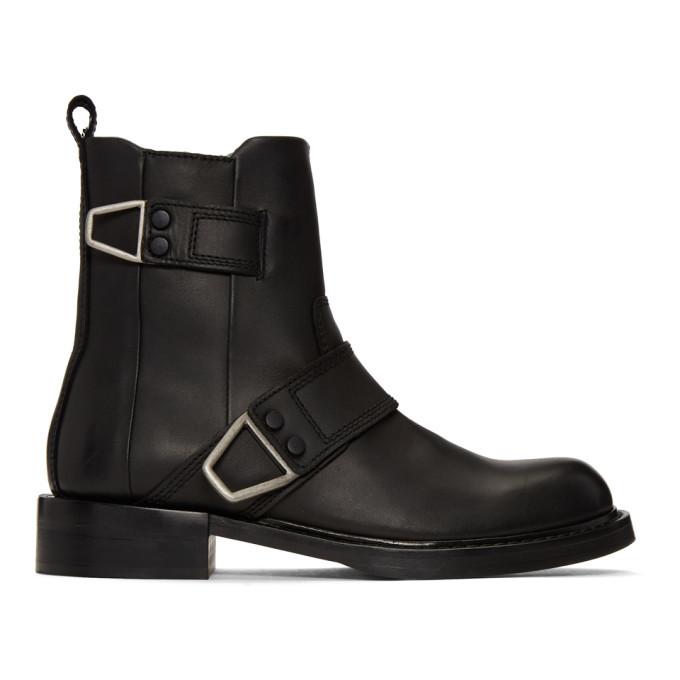 Photo: Diesel Black D-Jack Belted Boots