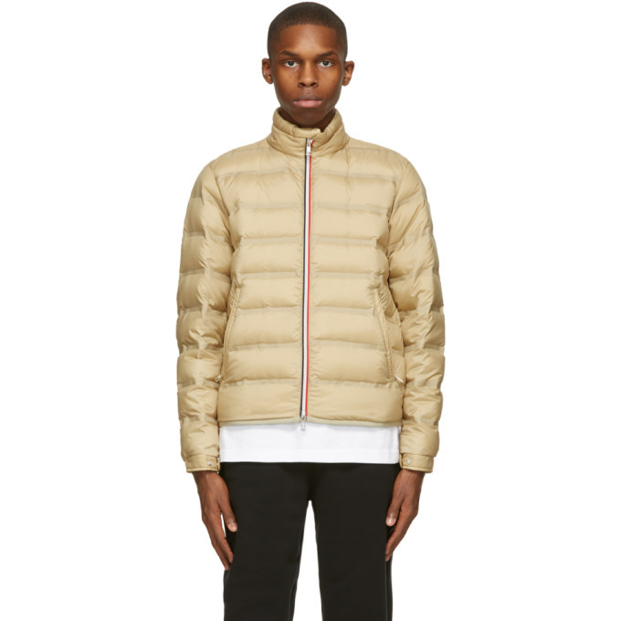 Photo: Moncler Genius 2 Moncler 1952 Taupe Down Helfferich Jacket