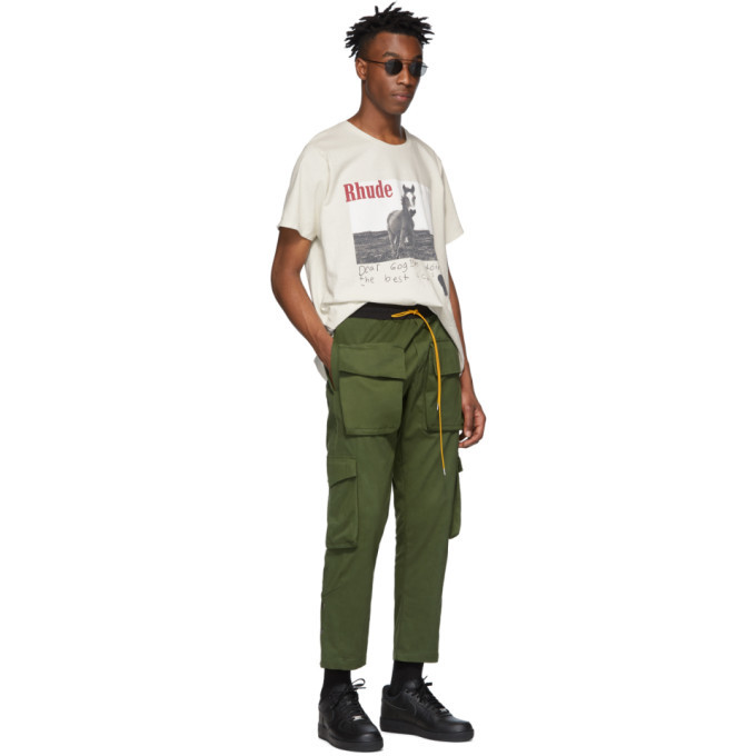 Rhude Green Rifle Cargo Pants