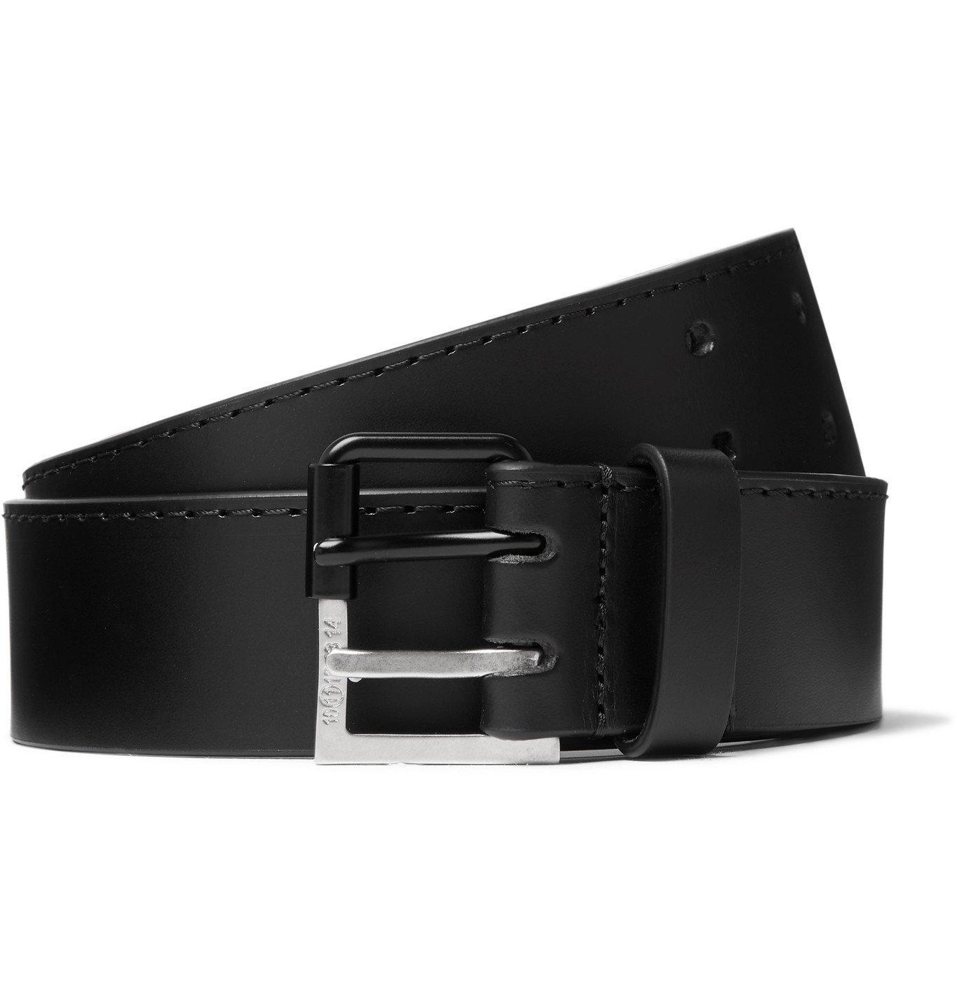 Maison Margiela - Leather Belt - Black
