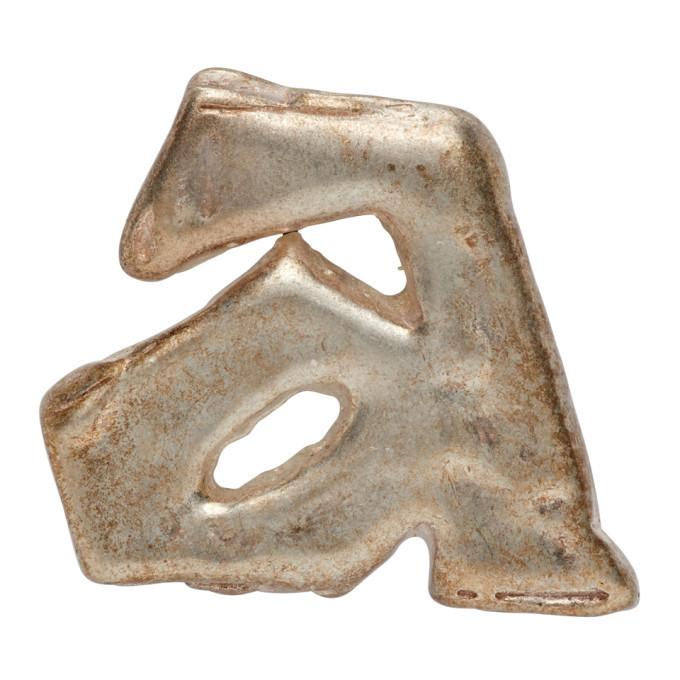 Photo: ADER error Silver Aspect Single Earring