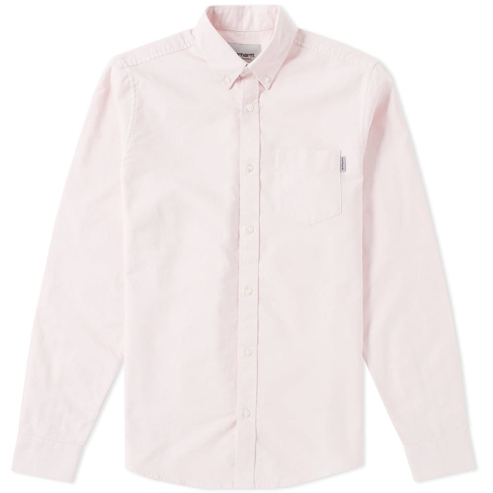 Photo: Carhartt Button Down Pocket Shirt Pink