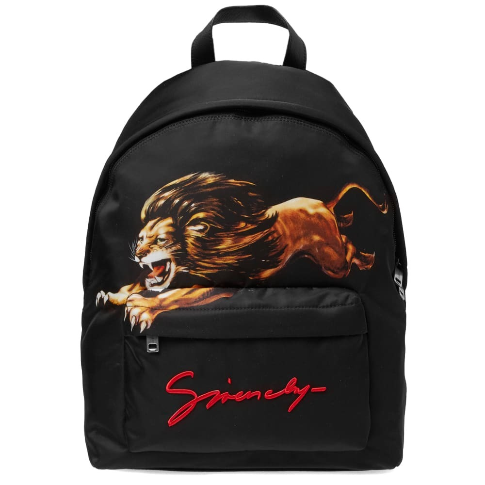 Photo: Givenchy Leo Backpack