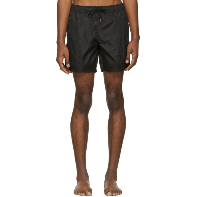 Photo: Moncler Black Mare Swim Shorts
