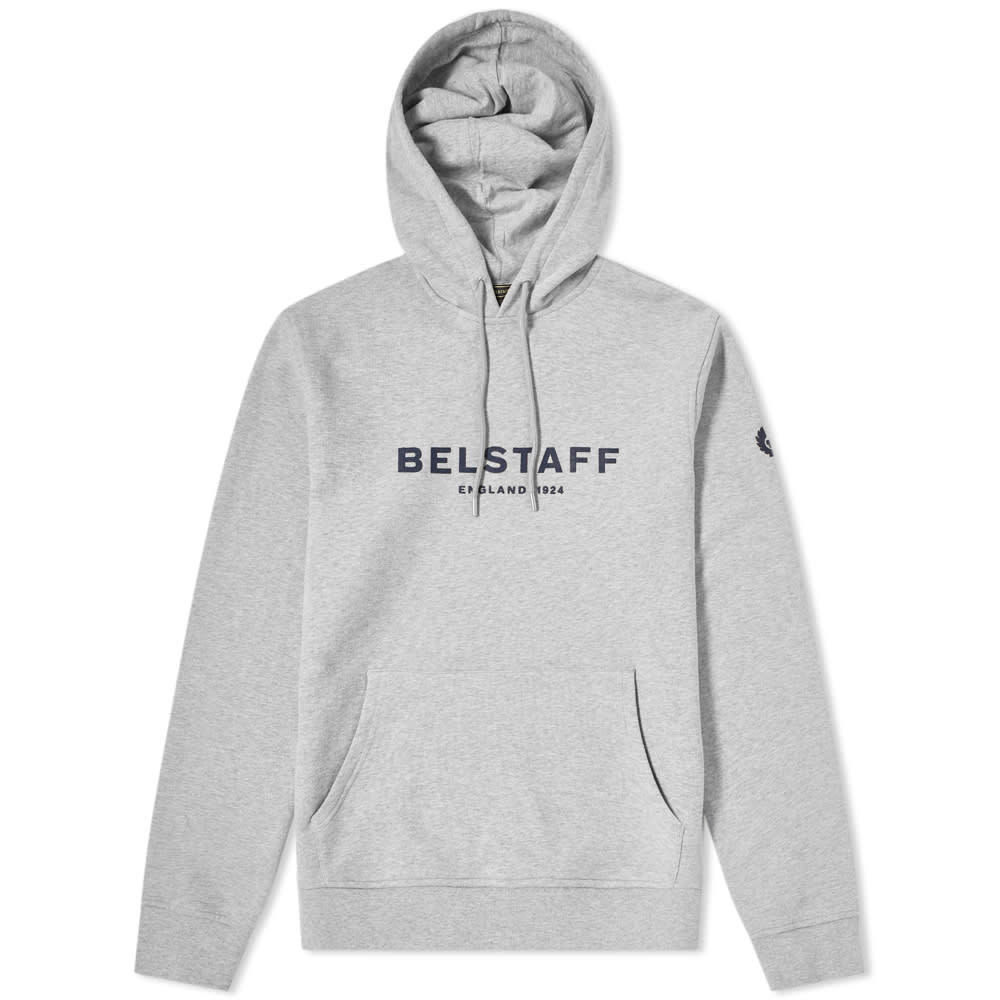 Photo: Belstaff Printed Logo Popover Hoody