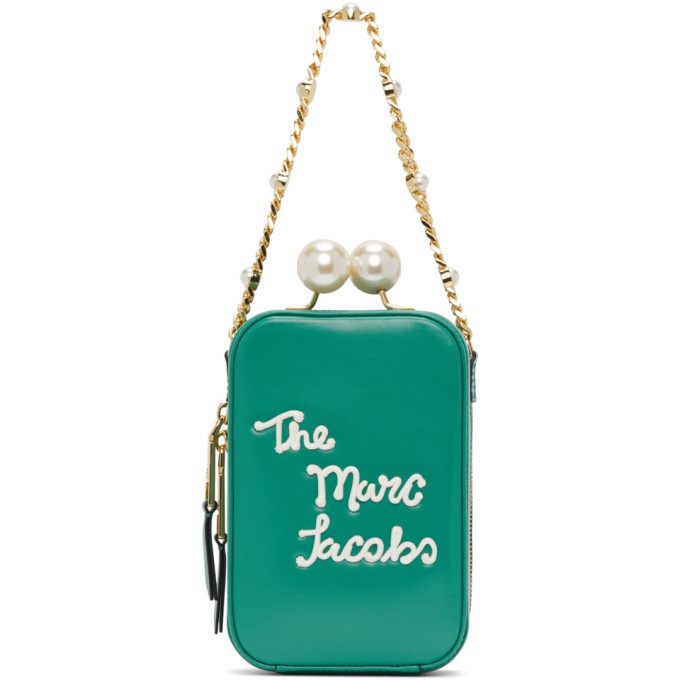 Photo: Marc Jacobs Green The Icing Vanity Bag