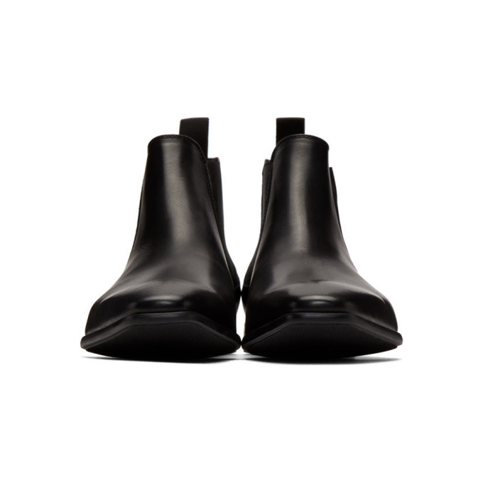 PS by Paul Smith Black Falconer Chelsea Boots