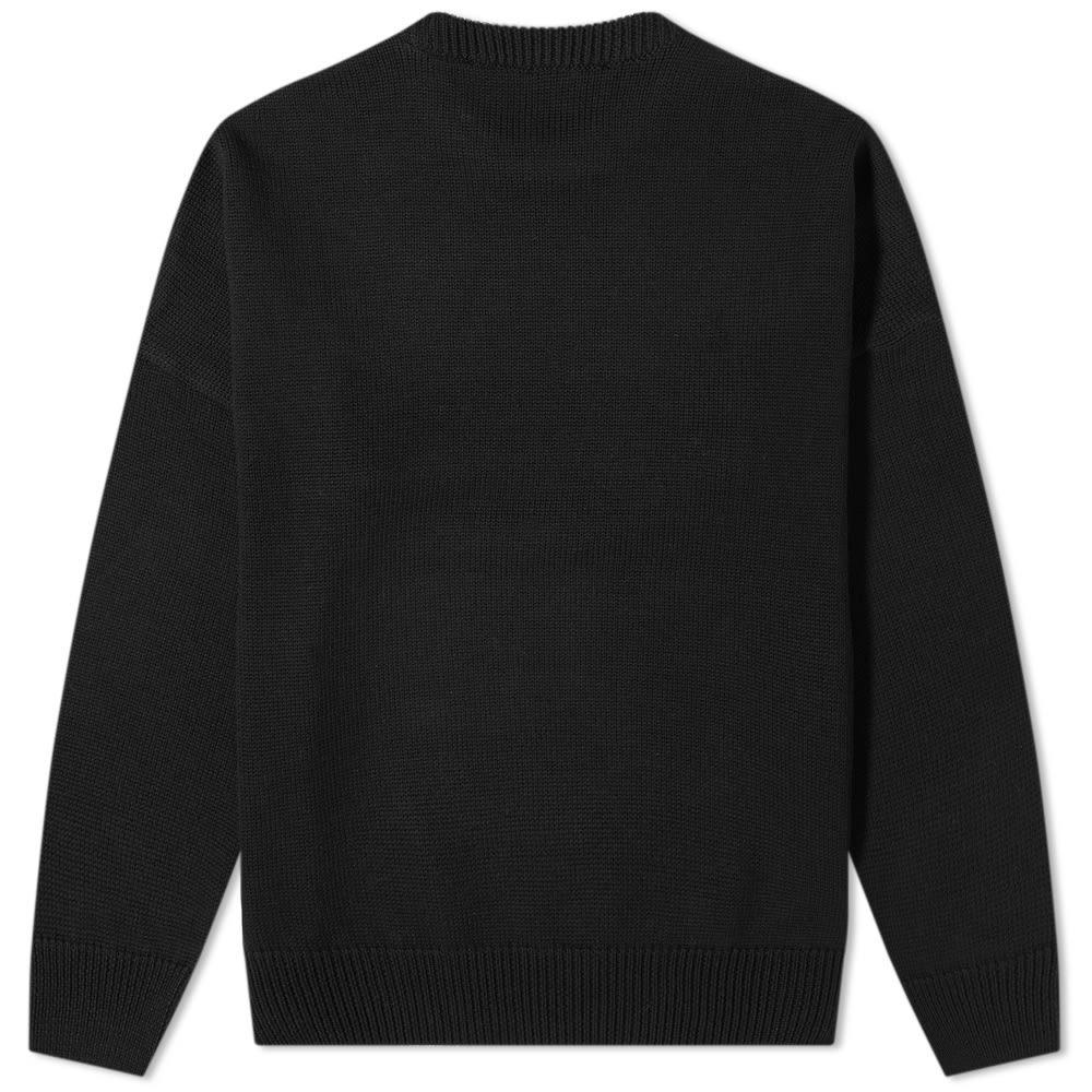 032c Reverse Logo Crew Knit
