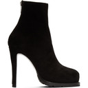 Sacai Black Two In One Zip Boots