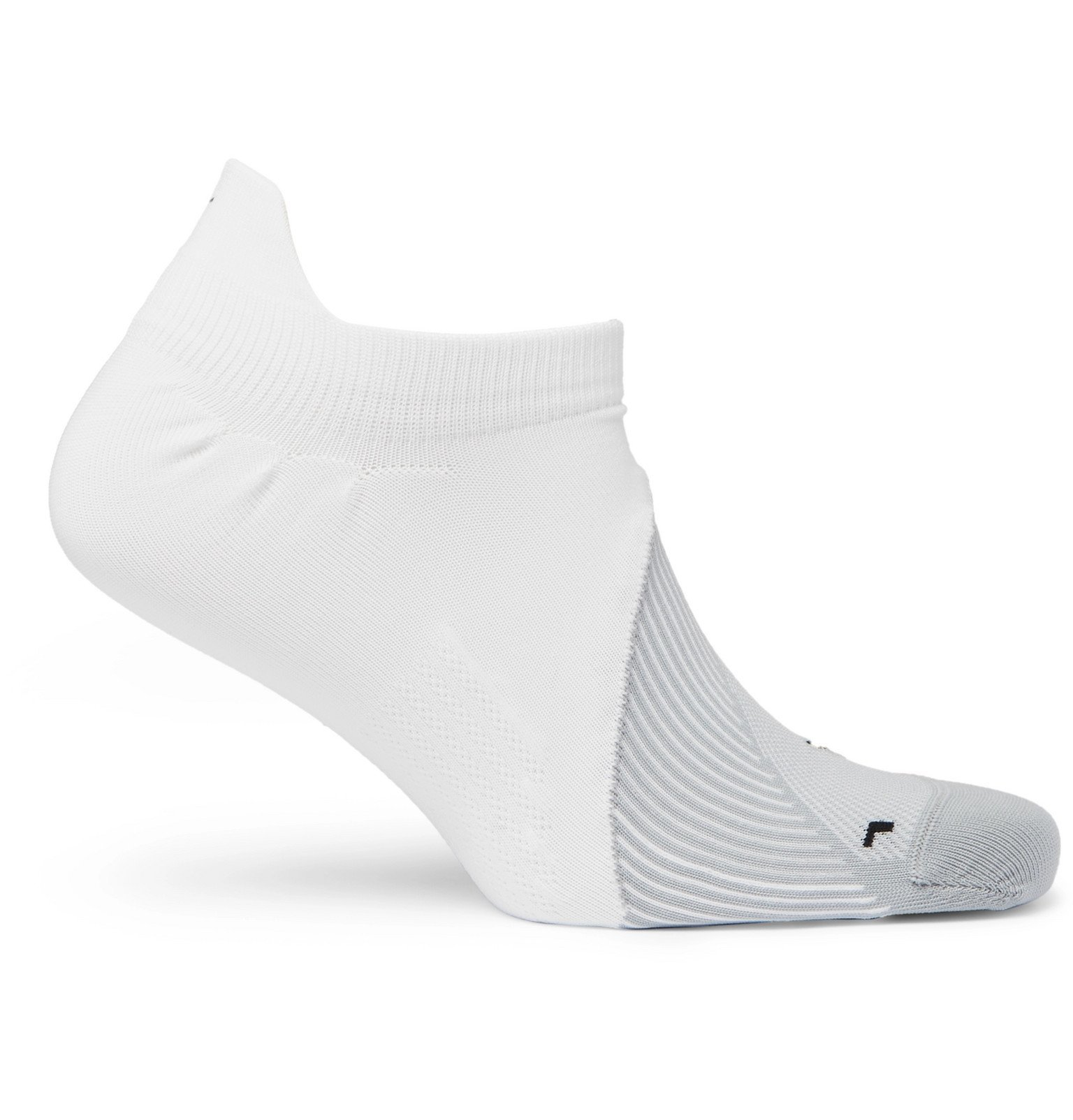 Photo: Nike Running - Elite Dri-FIT No-Show Socks - White