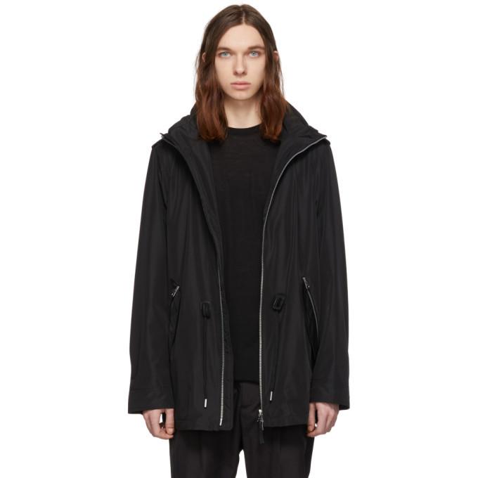 Photo: Mackage Black Mack Hooded Rain Jacket