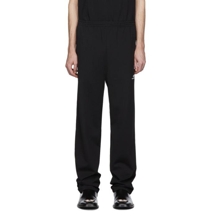 Photo: Balenciaga Black Nylon Track Pants