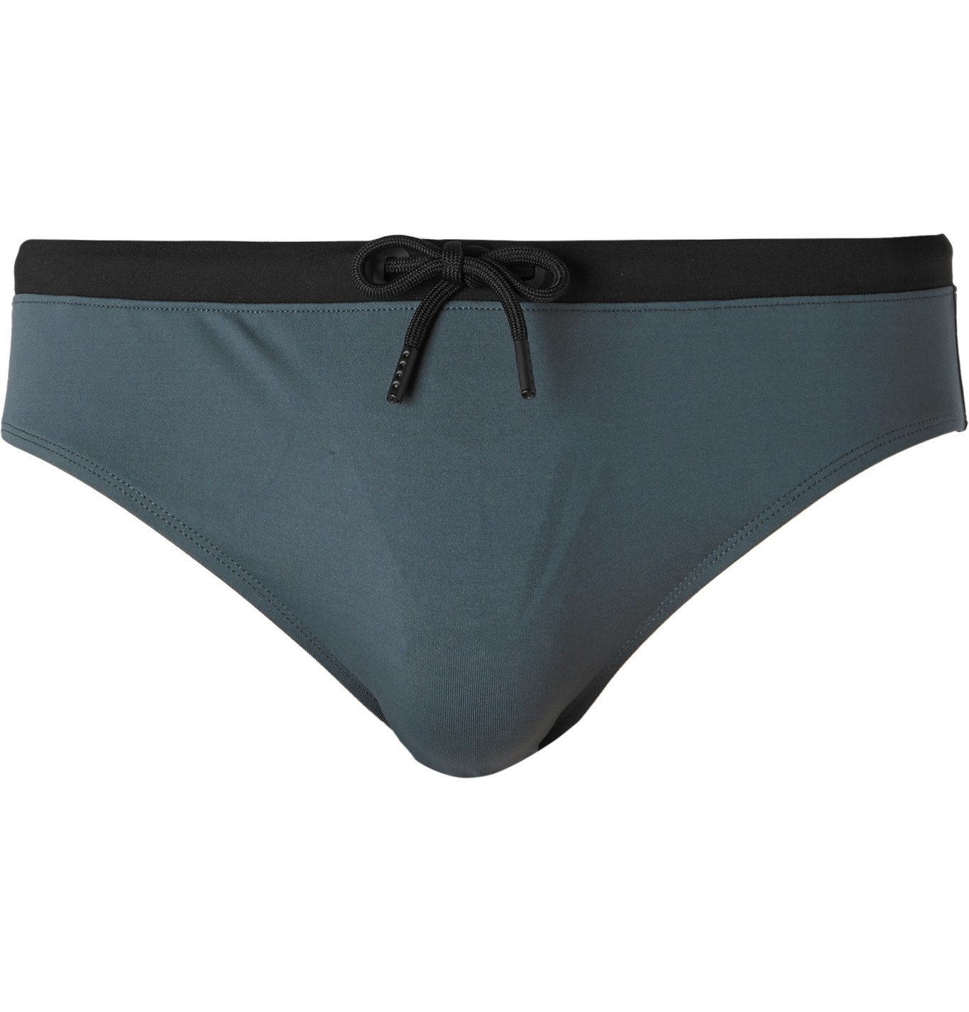 Photo: Orlebar Brown - Dachshund Swim Briefs - Gray