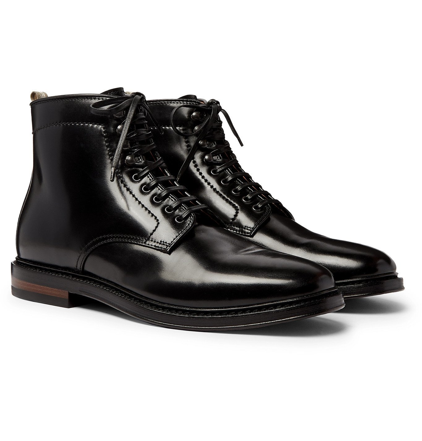Photo: Officine Creative - Hopkins Leather Boots - Black