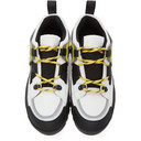 Stella McCartney Black and Green Trail Hiking Sneakers