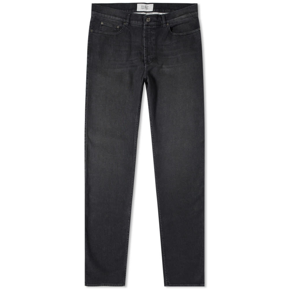 Photo: Givenchy Slim Fit Logo Stamp Jean