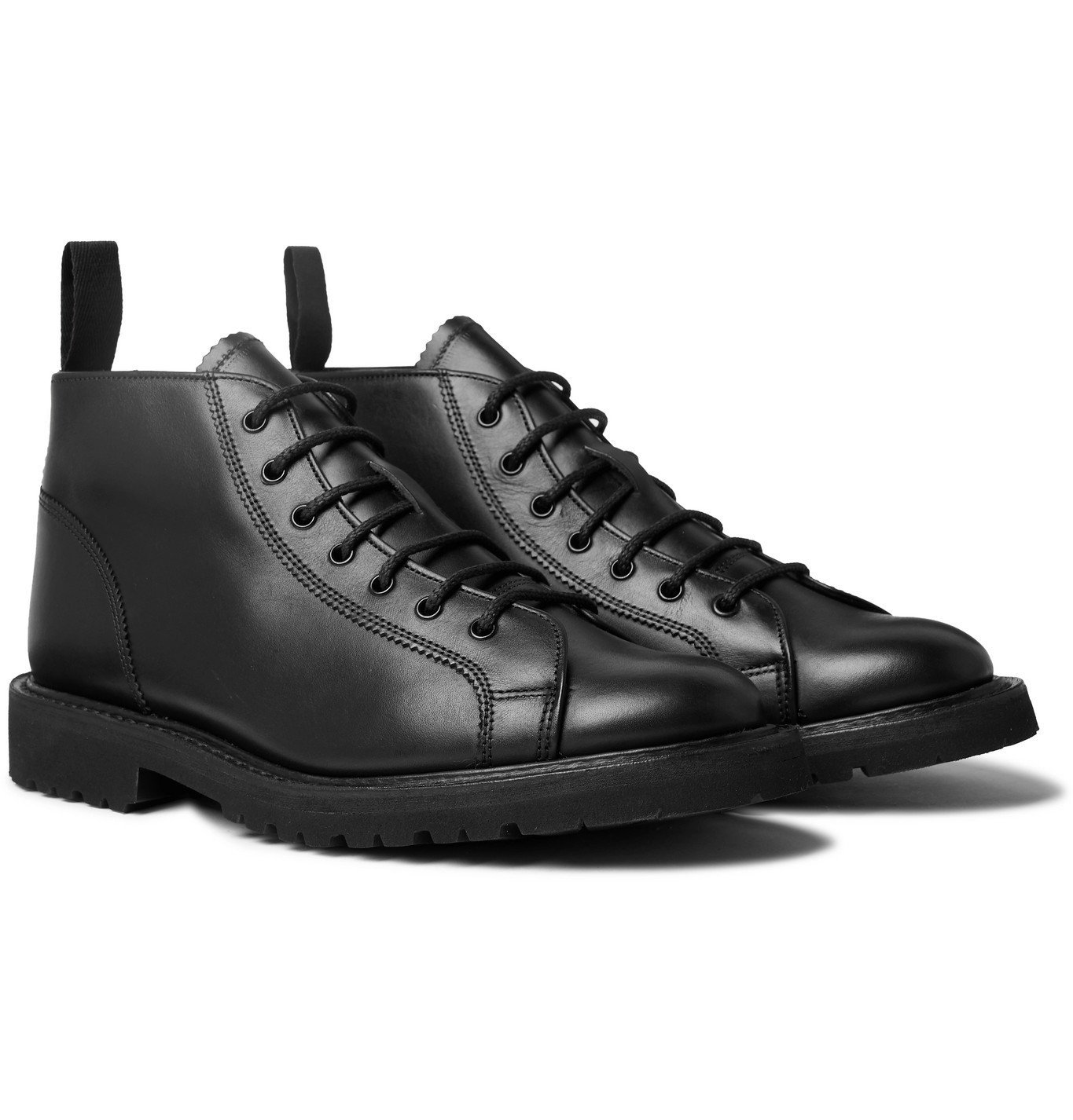 Photo: Tricker's - Ethan Leather Boots - Black