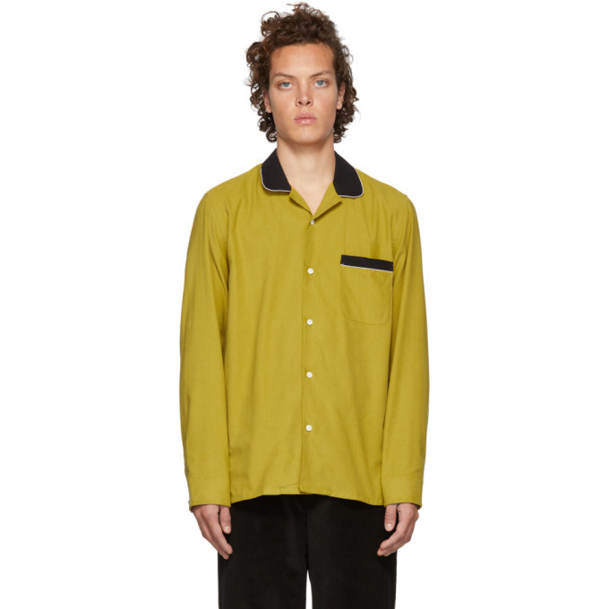 Photo: Cobra S.C. Yellow and Black Corduroy Cabriolet Shirt