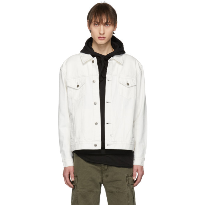 Photo: Ksubi Off-White Denim OG Chalk Jacket