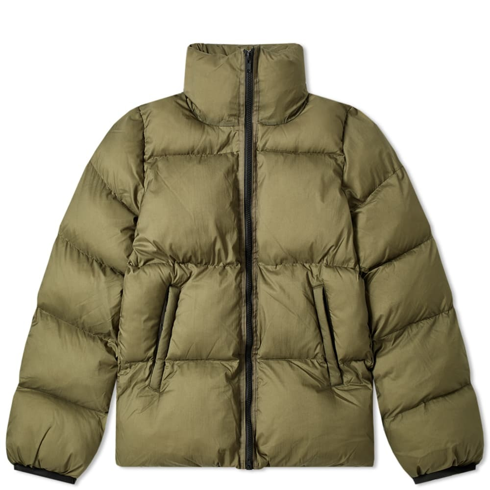 Photo: MKI Nylon Short Bubble Jacket Olive