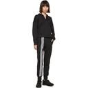 adidas Originals Black Asymmetric 3-Stripes Lounge Pants