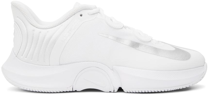 Nike White NikeCourt Air Zoom GP Turbo Sneakers Nike
