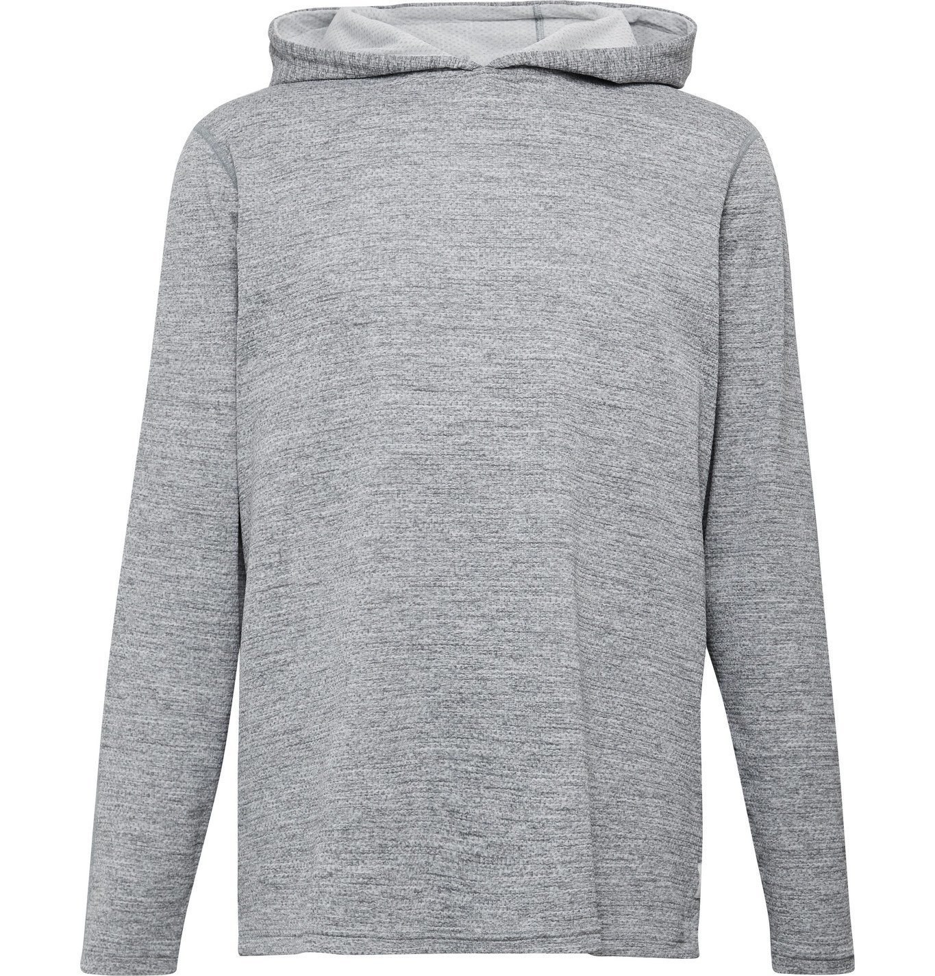 Photo: Reigning Champ - Mélange SOLOTEX Mesh Hoodie - Gray