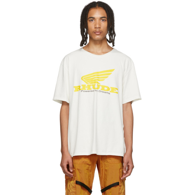 Photo: Rhude White Rhonda T-Shirt