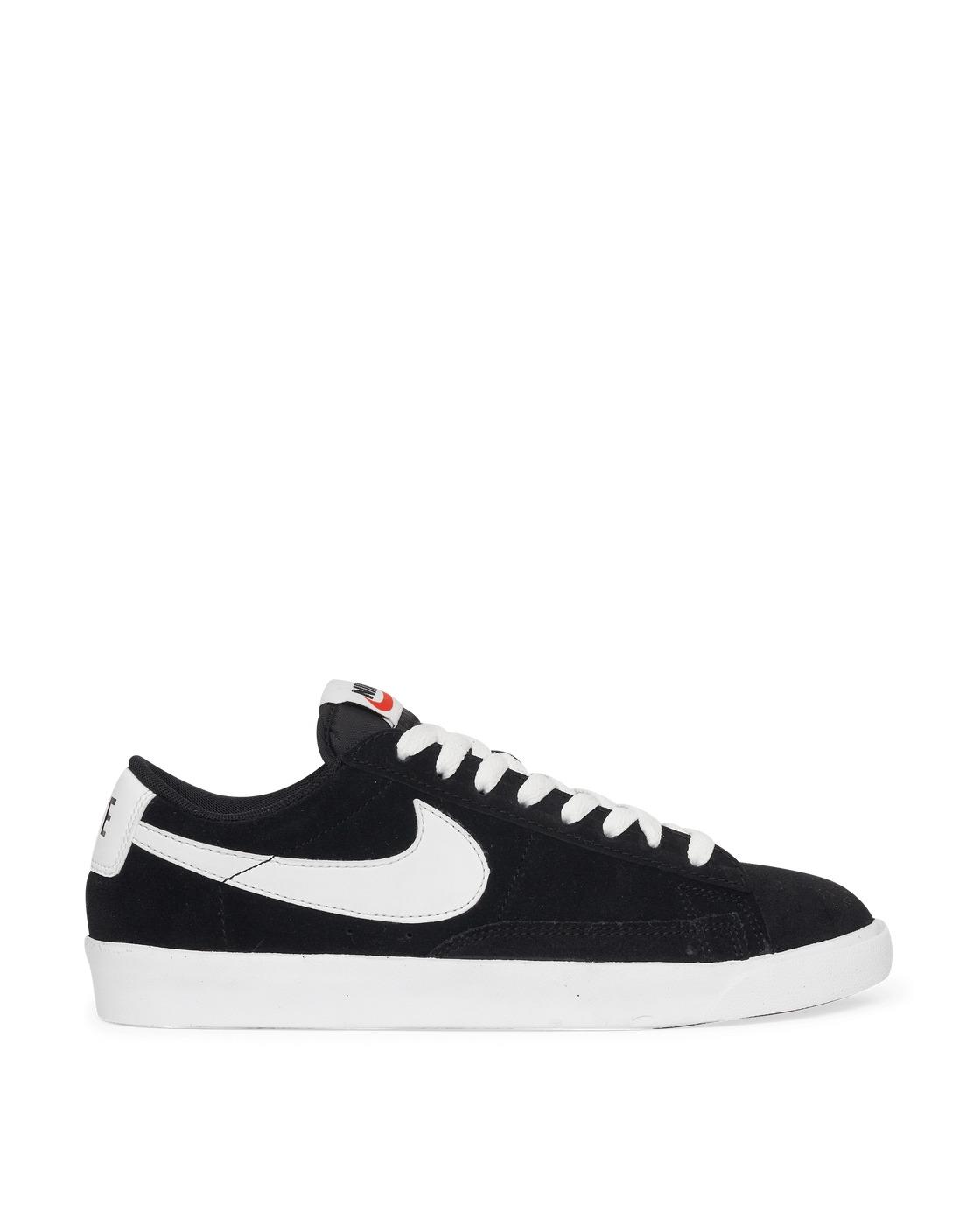 Nike Blazer Low Premium Vintage Suede Sneakers Black/White Nike