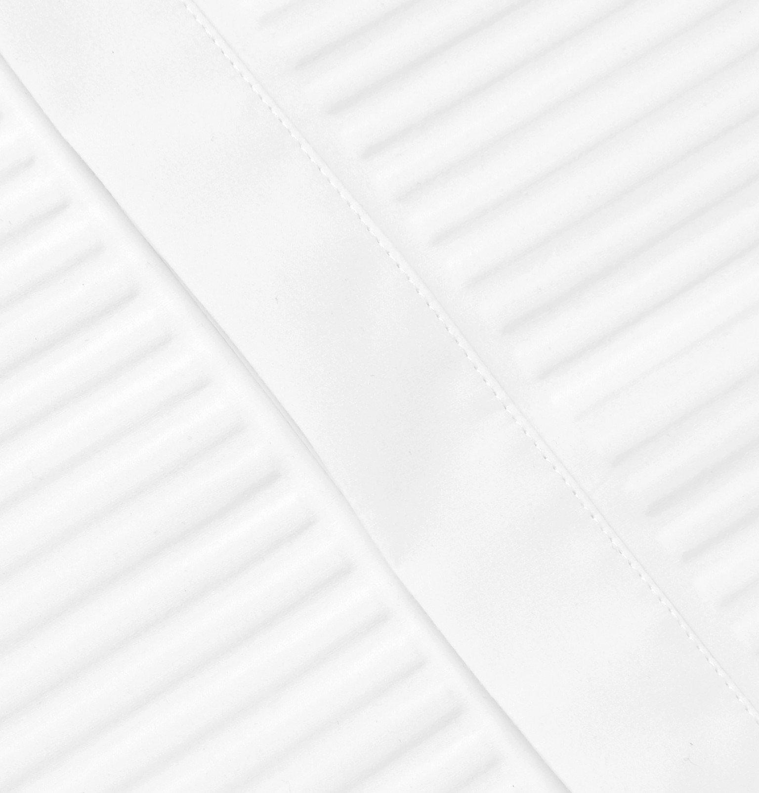 Bottega Veneta - White Bib-Front Cotton-Poplin Shirt - White