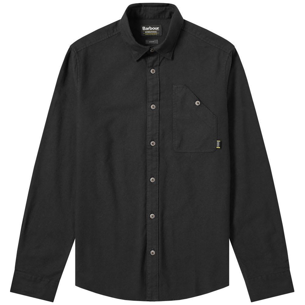 Photo: Barbour International Cotter Shirt Black