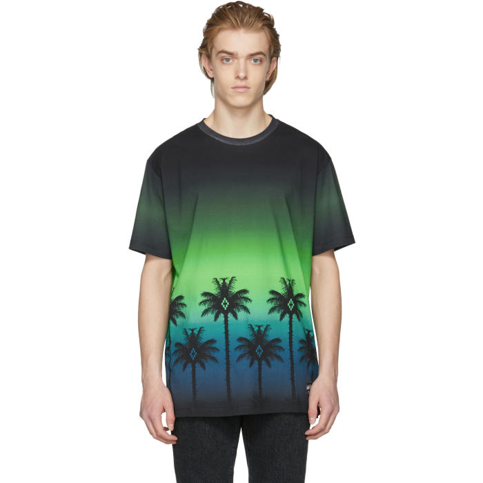 Photo: Marcelo Burlon County of Milan Green Palm T-Shirt