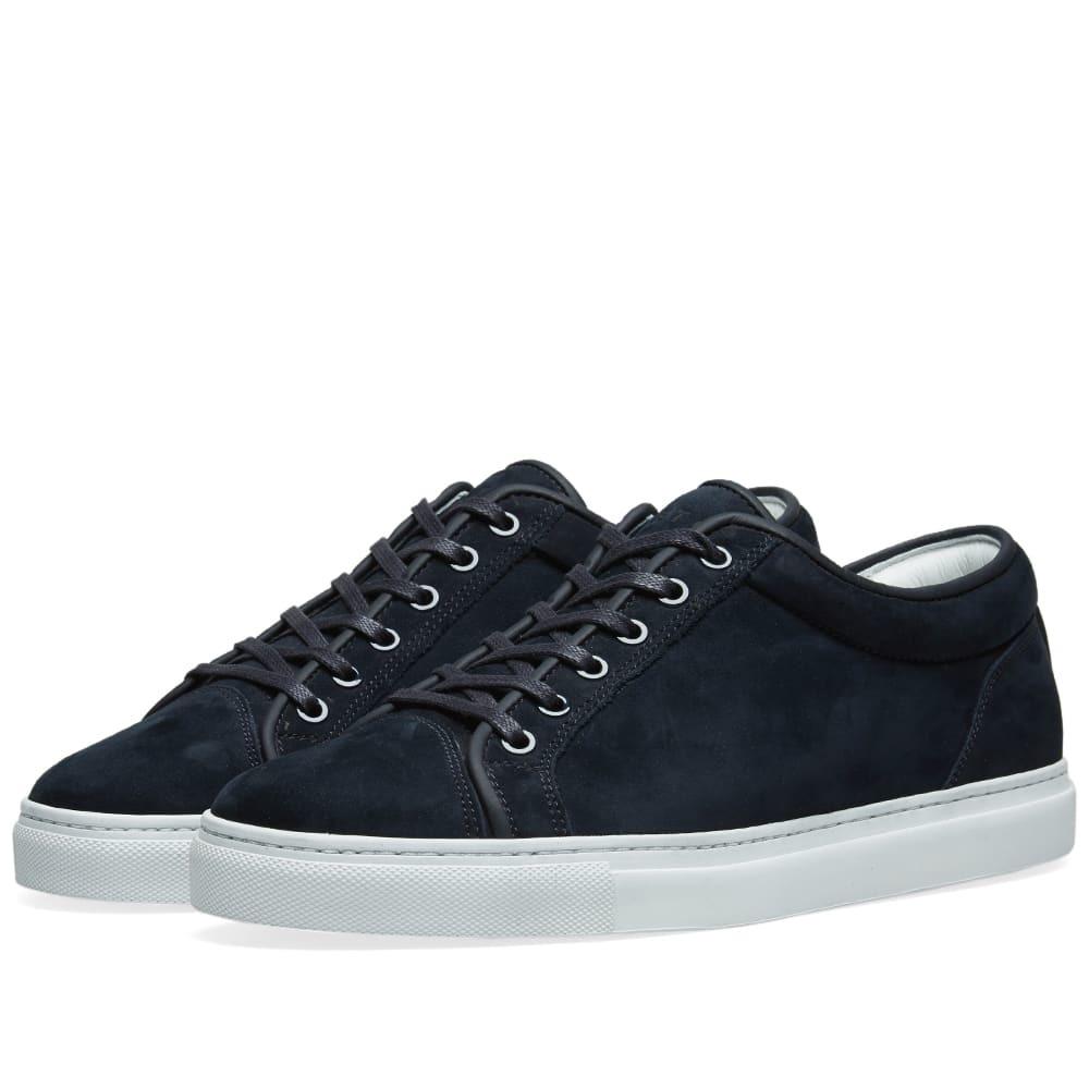 Photo: ETQ. Low Top 1 Sneaker Blueberry Nubuck