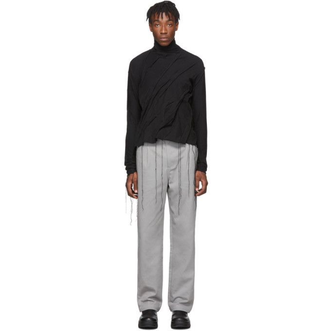 Photo: Post Archive Faction PAF Black Left 2.0 Long Sleeve Turtleneck