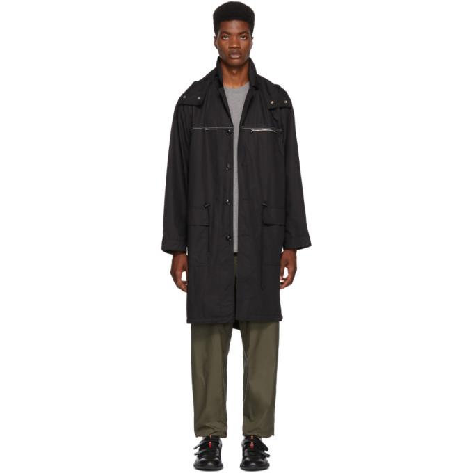 Photo: 3.1 Phillip Lim Black Oversized Parka Coat