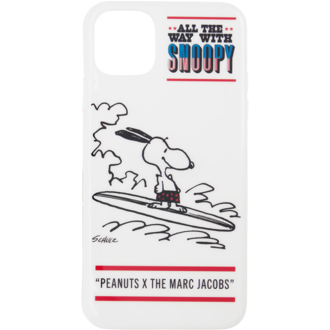 Photo: Marc Jacobs White Peanuts Edition Snoopy iPhone 11 Pro Max Case