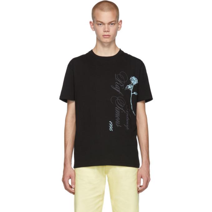 Photo: Raf Simons Black Antwerp Slim Fit T-Shirt