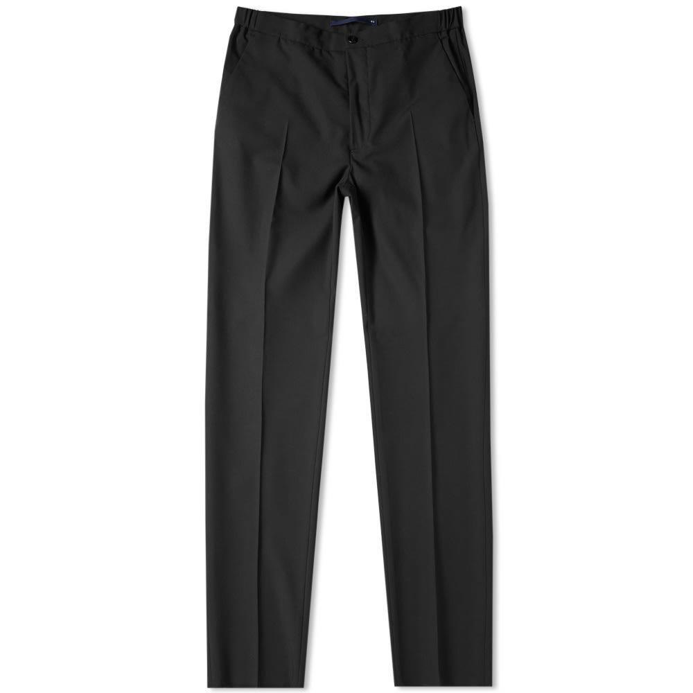 Photo: Incotex Slim Fit Wool Trouser Black