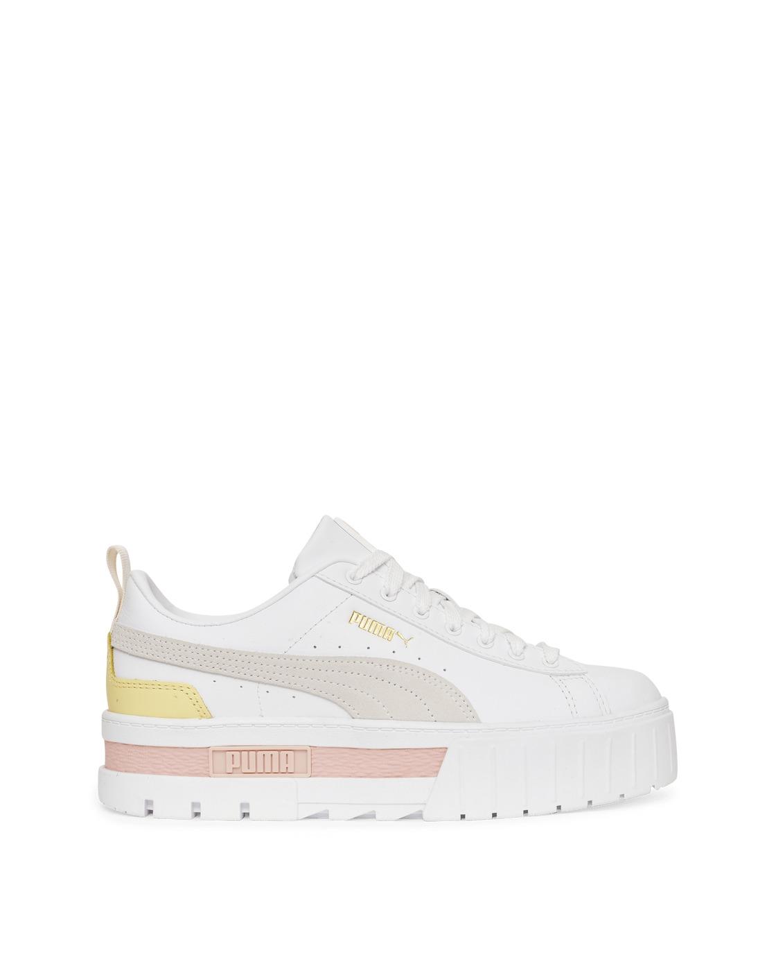 Puma Mayze Lth Sneakers Puma White/Lotus Puma