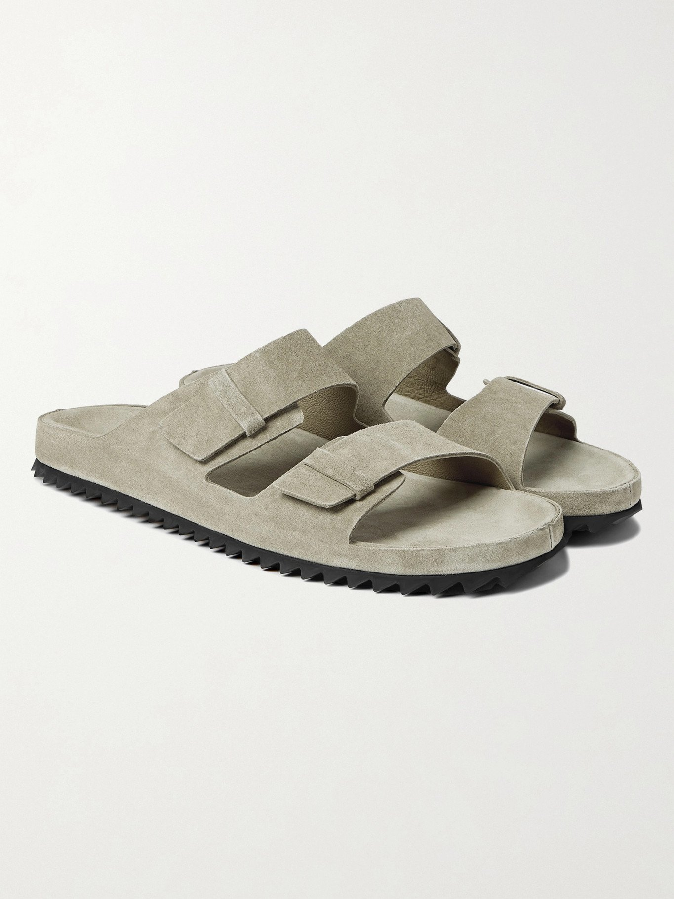 Photo: OFFICINE CREATIVE - Agora Suede Sandals - Neutrals
