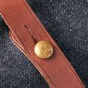 RRL - Howard Leather-Trimmed Denim Tote Bag - Blue