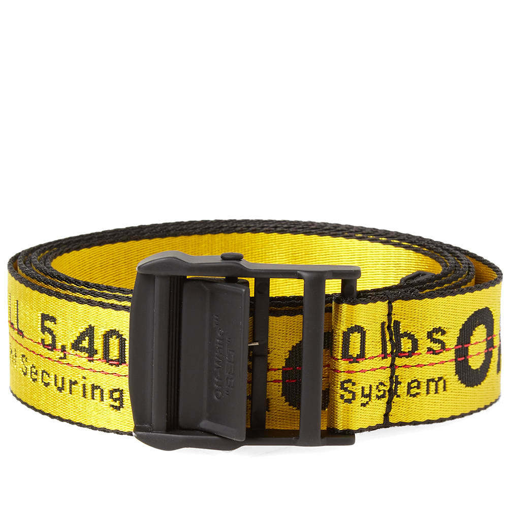 Photo: Off-White Industrial Belt Yellow