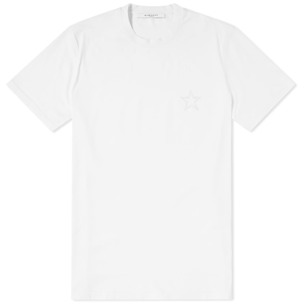 Photo: Givenchy Tonal Chest Star Tee