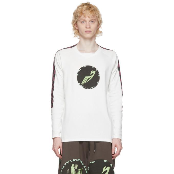 Photo: Kiko Kostadinov White Orpheus Graphic T-Shirt