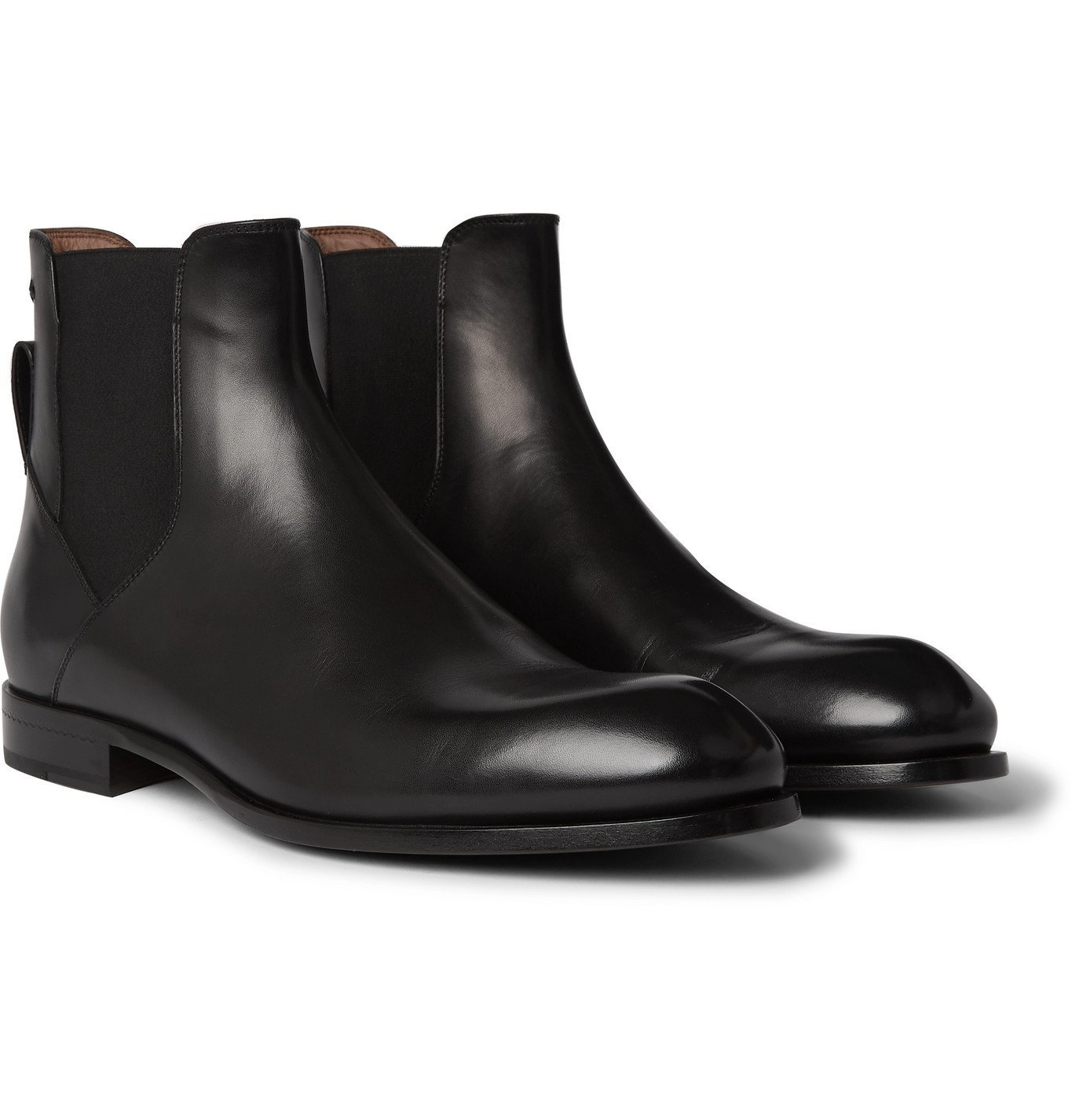 Photo: Ermenegildo Zegna - Leather Chelsea Boots - Black